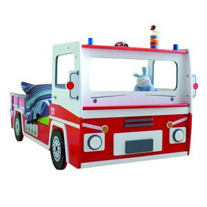 Demeyere Feuerwehrauto Bett