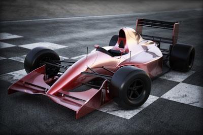 Formel 1 Rennwagen