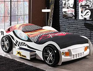 Vipack Turbo Racing Car in weiß-schwarz